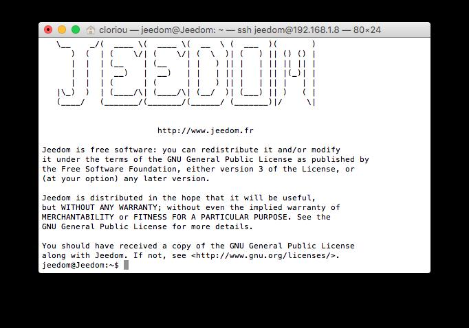 Raspberry pi installer jeedom sur votre carte sd for Logo change votre fenetre cas par cas